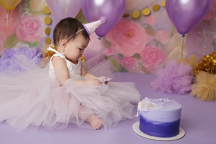 tucson photographer one year birthday photos
