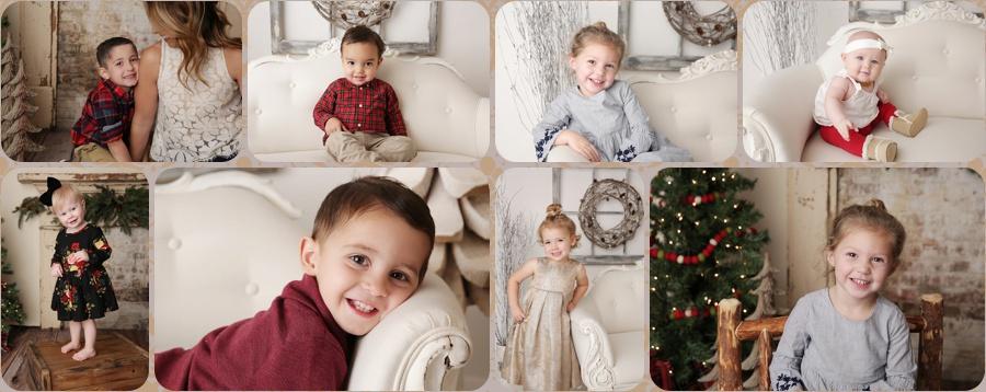 tucson family christmas photo