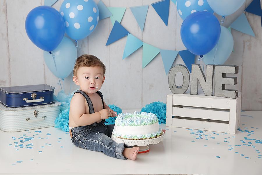 tucson cake smash photography