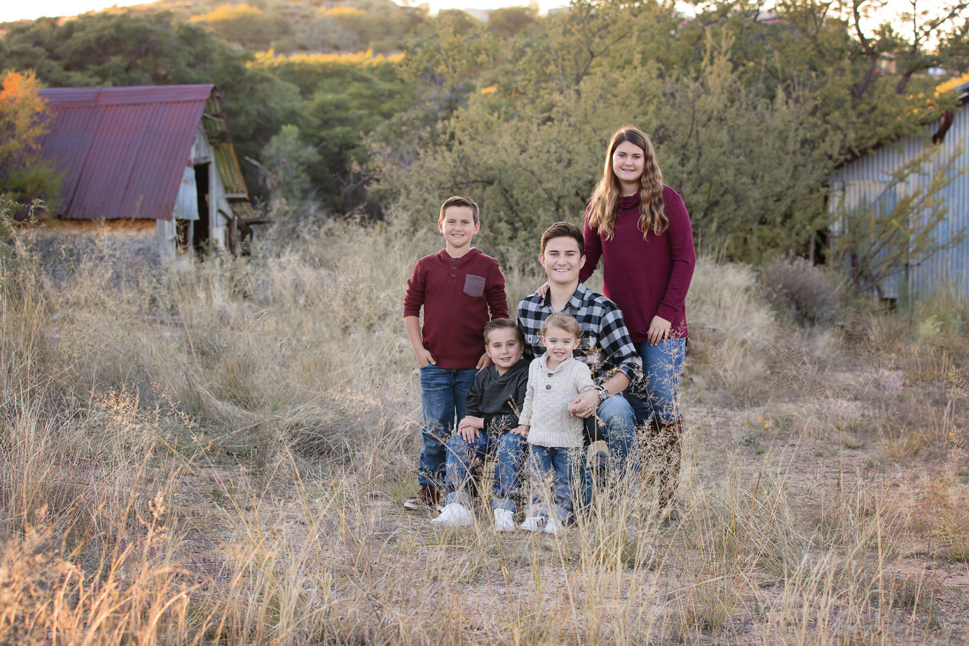Rustic family photos