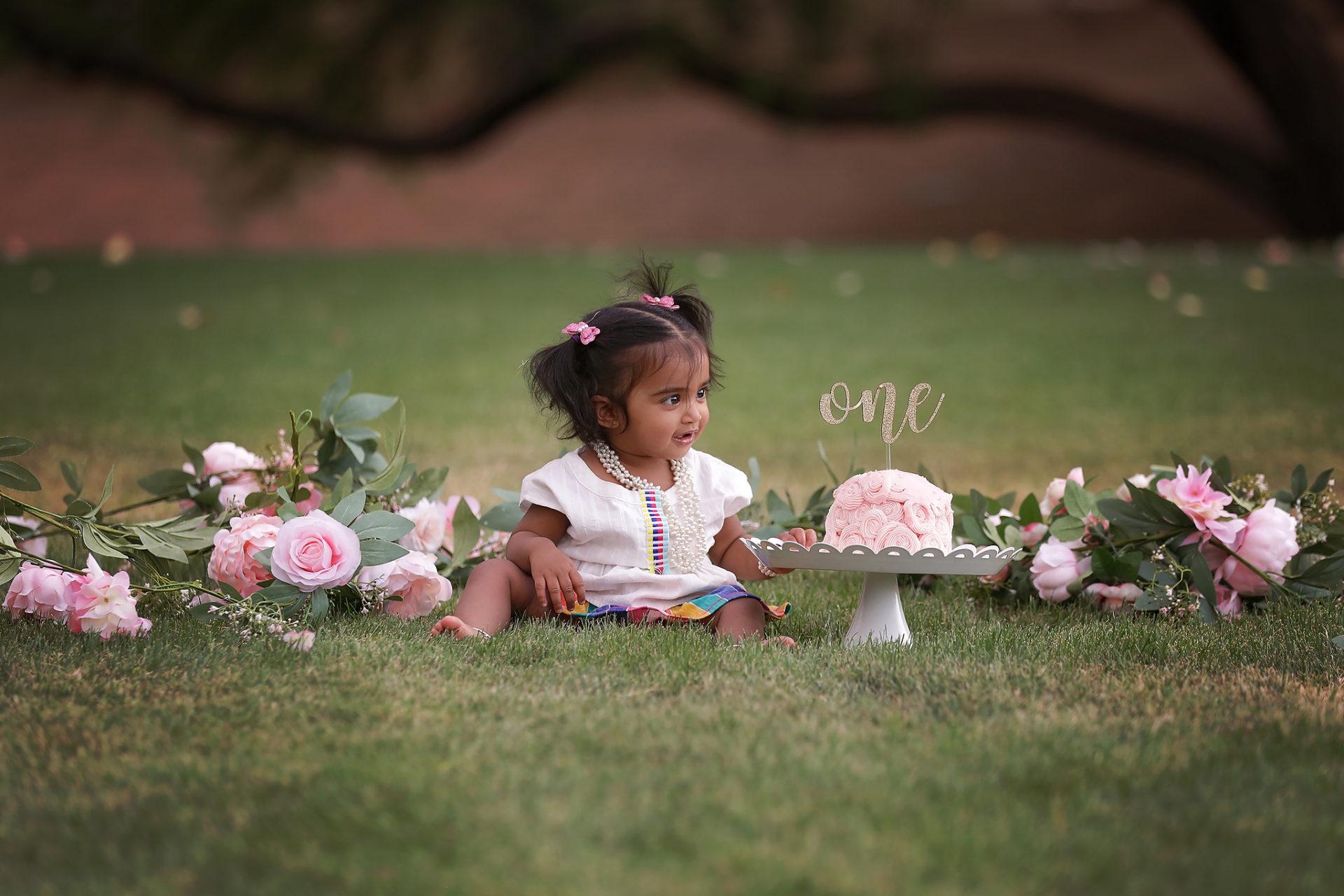 Tucson Baby Cake Smash Photographer