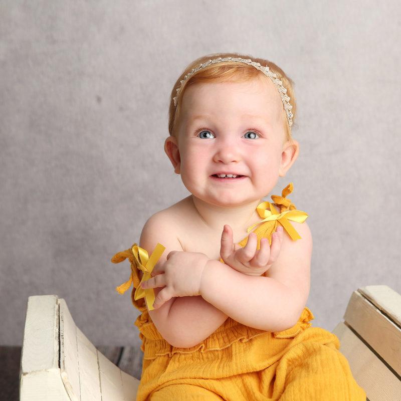 Olive | One Year Old Birthday Photos | Tucson, Arizona