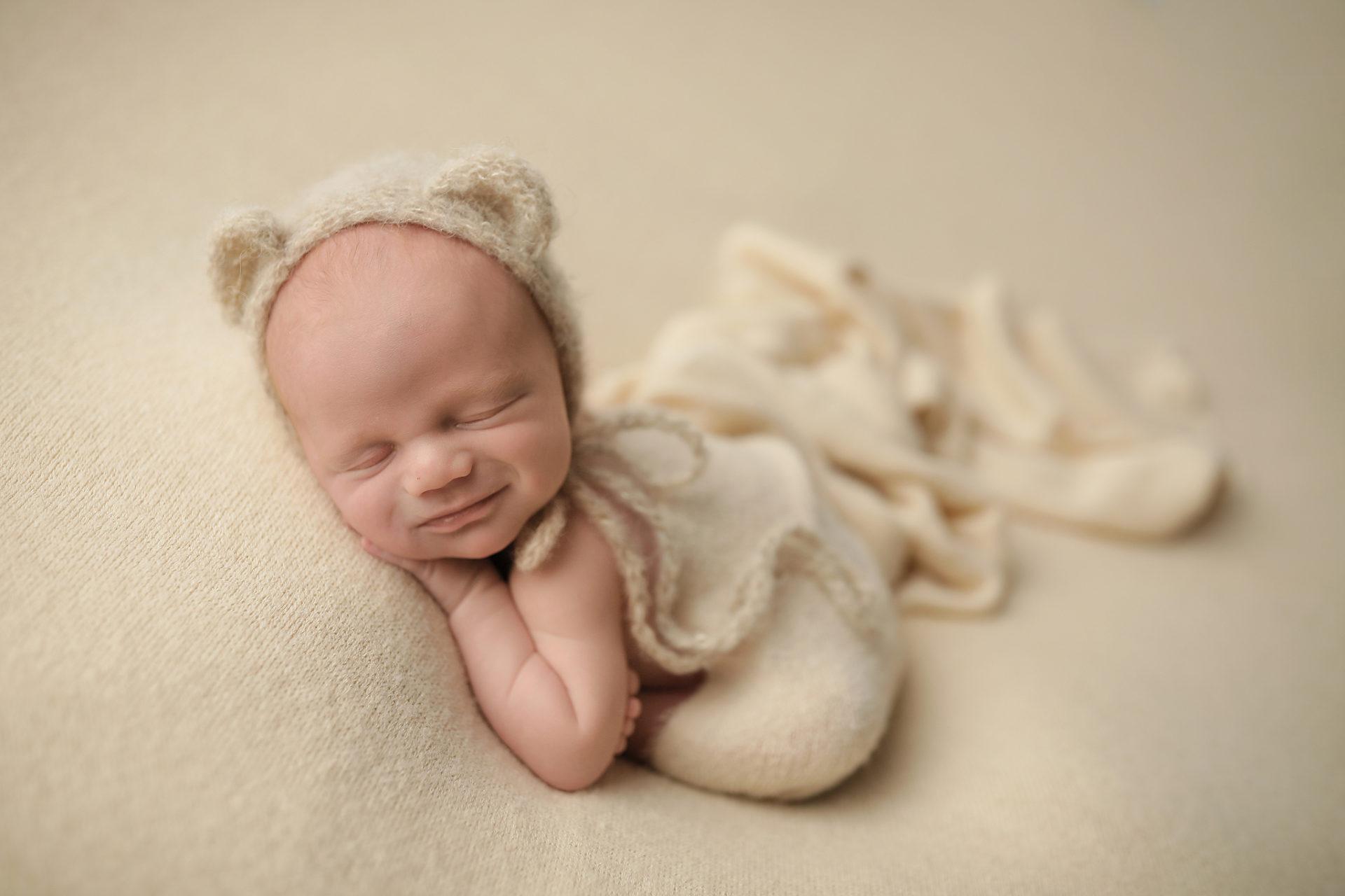 Newborn Baby poses