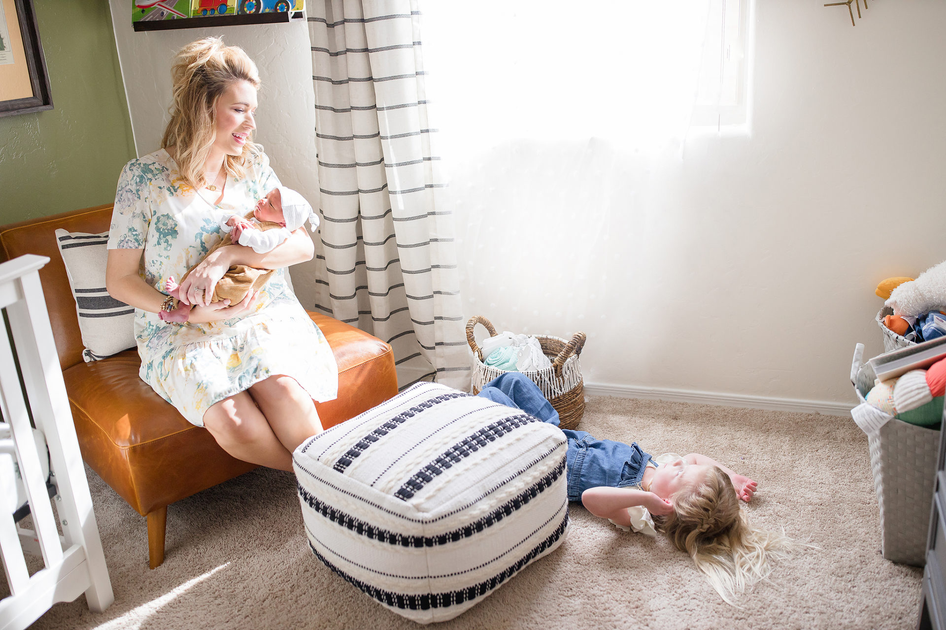 Tucson Lifestyle Newborn Baby Photographer