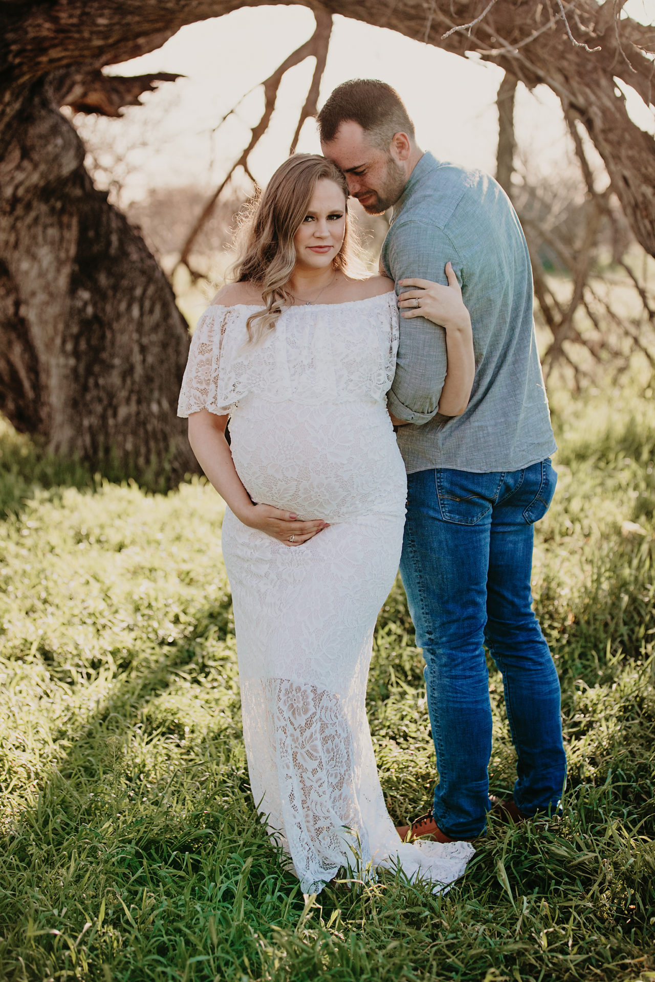 tucson desert pregnancy photo shoot