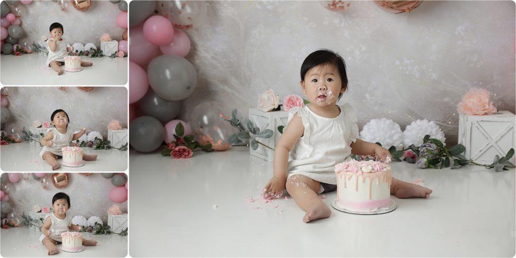 tucson cake smash photo shoot