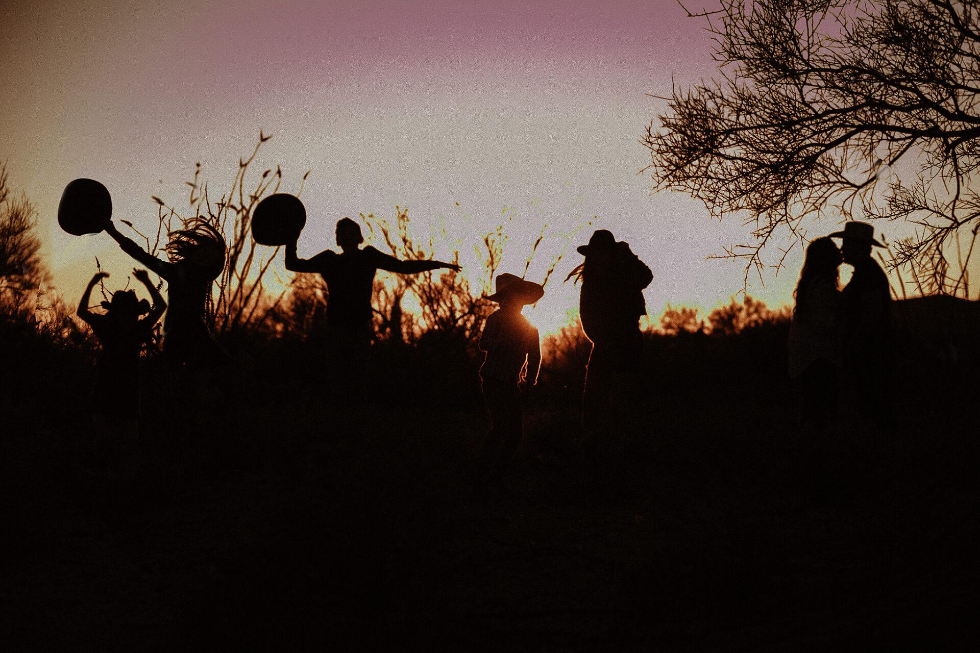 Tucson desert sunset pictures