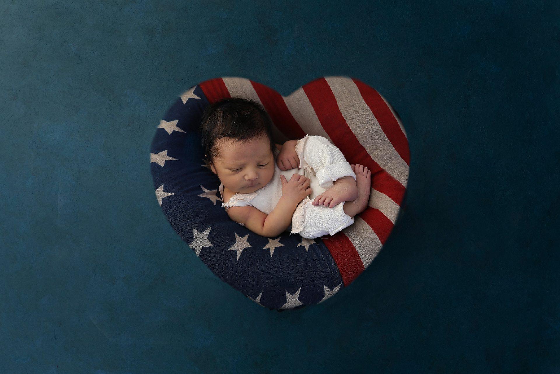 Tucson Patriotic Baby Pictures