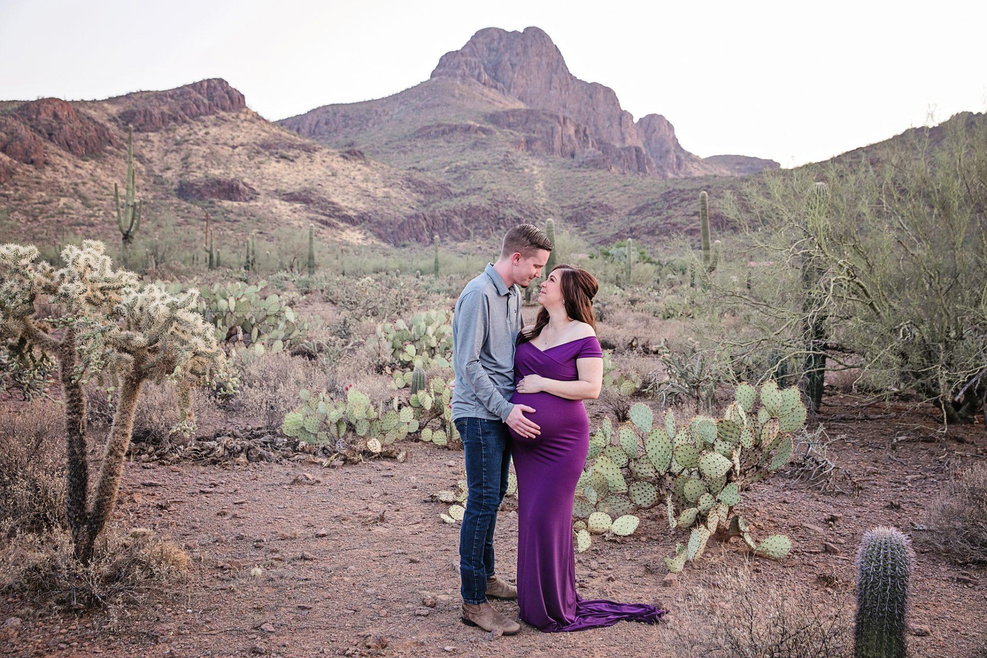 Tucson pregnancy photographer