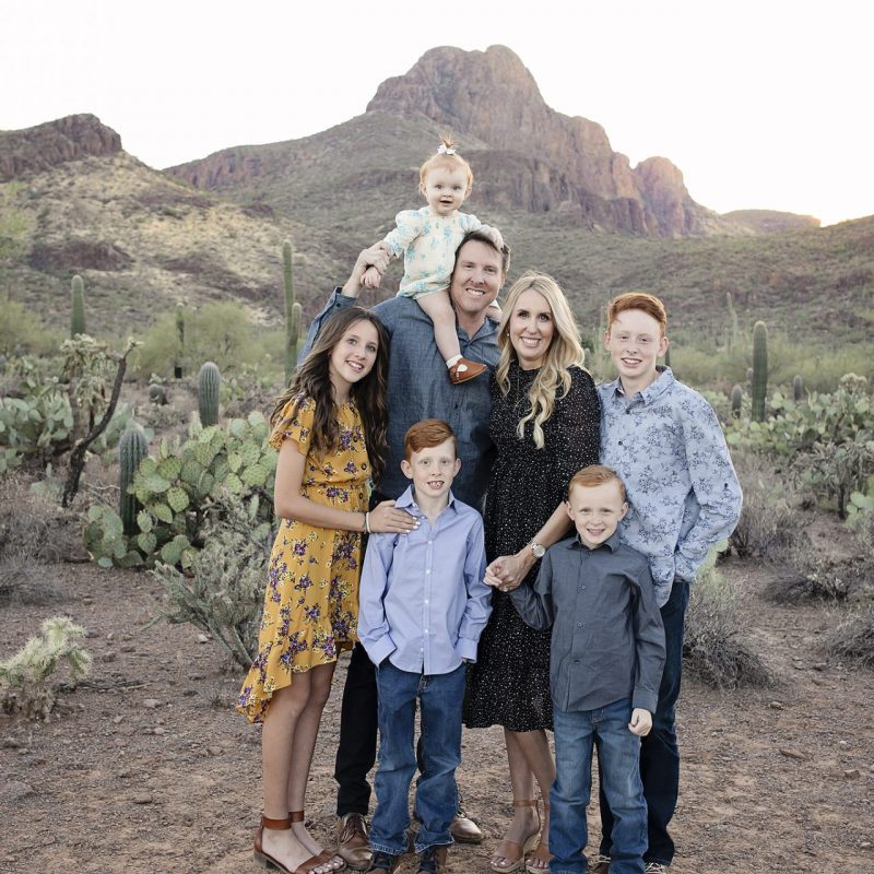 Family Christmas Pictures | Tucson, Arizona | Family Desert Photographer