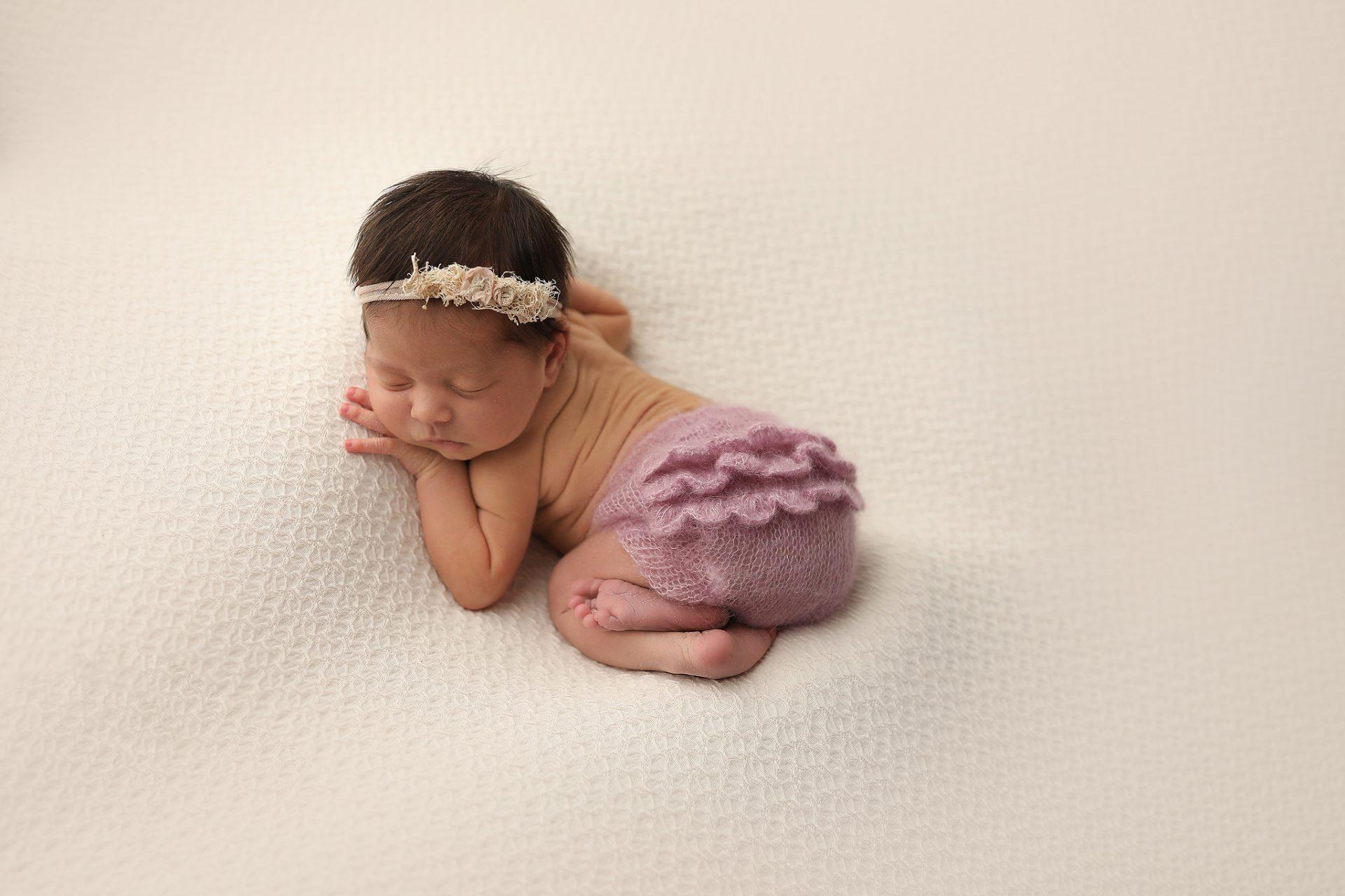 darling newborn poses tucson