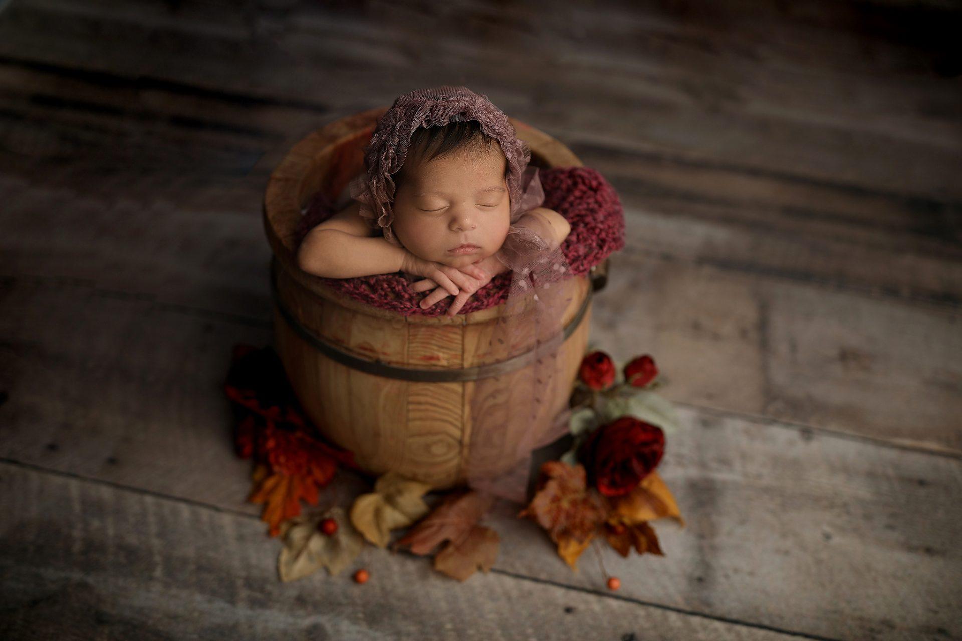 Tucson Baby In bucket