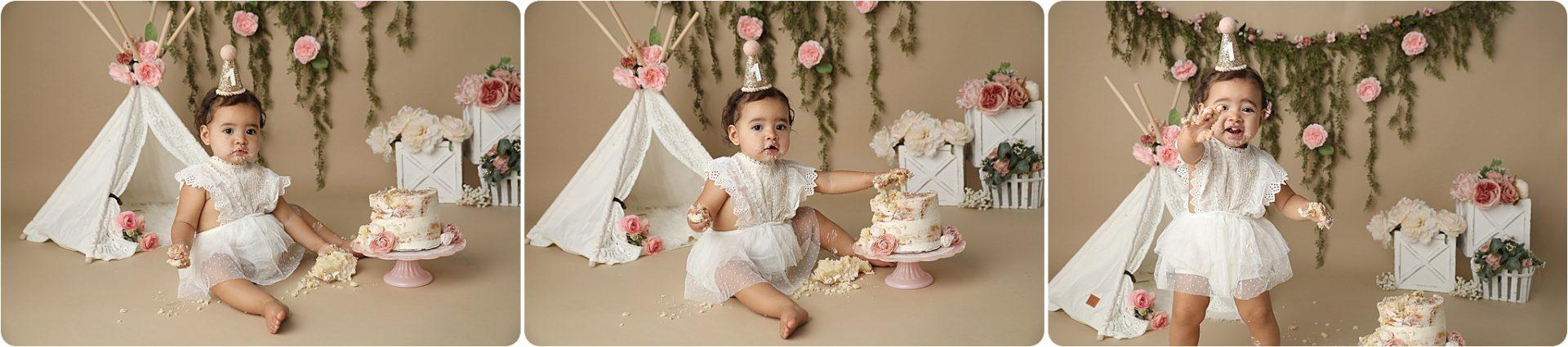 TUcson Cake Smash Baby Pictures
