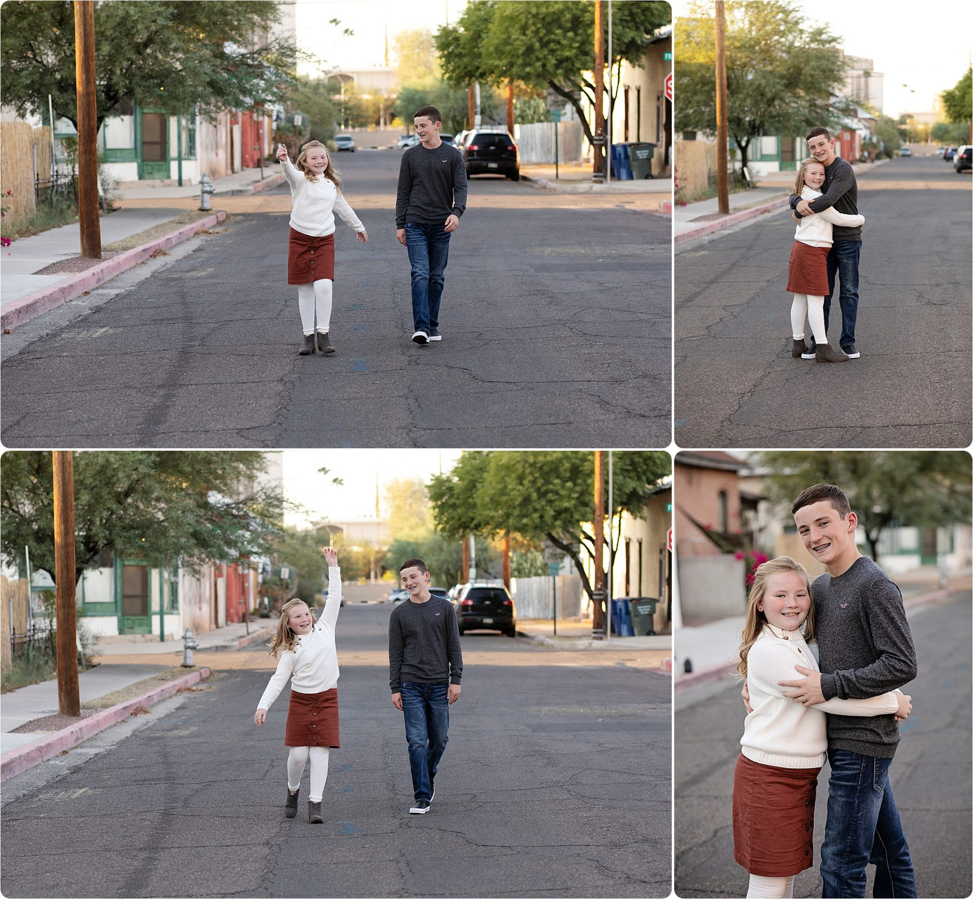 Tucson Family Downtown Pictures