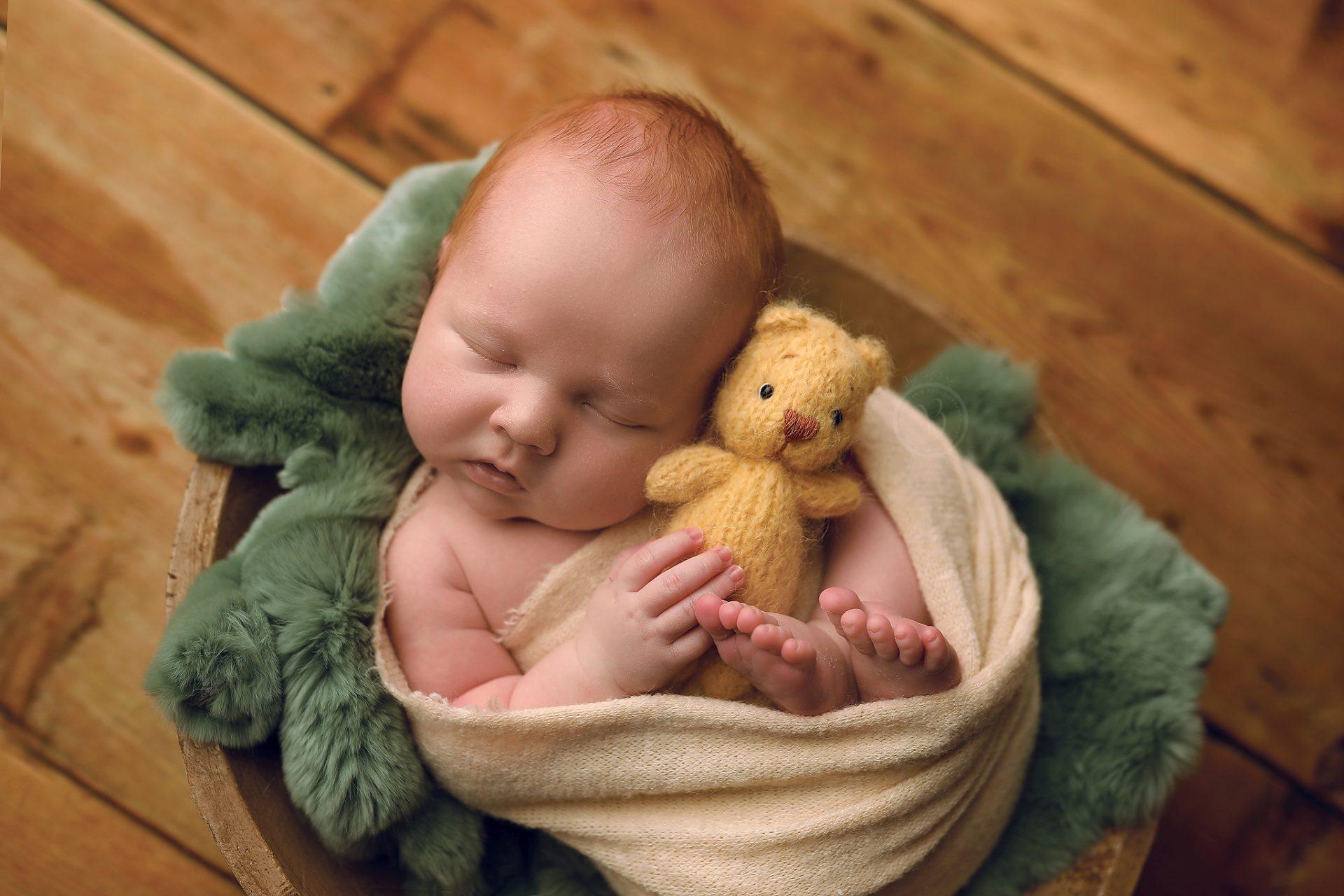 Darling newborn baby Photographer