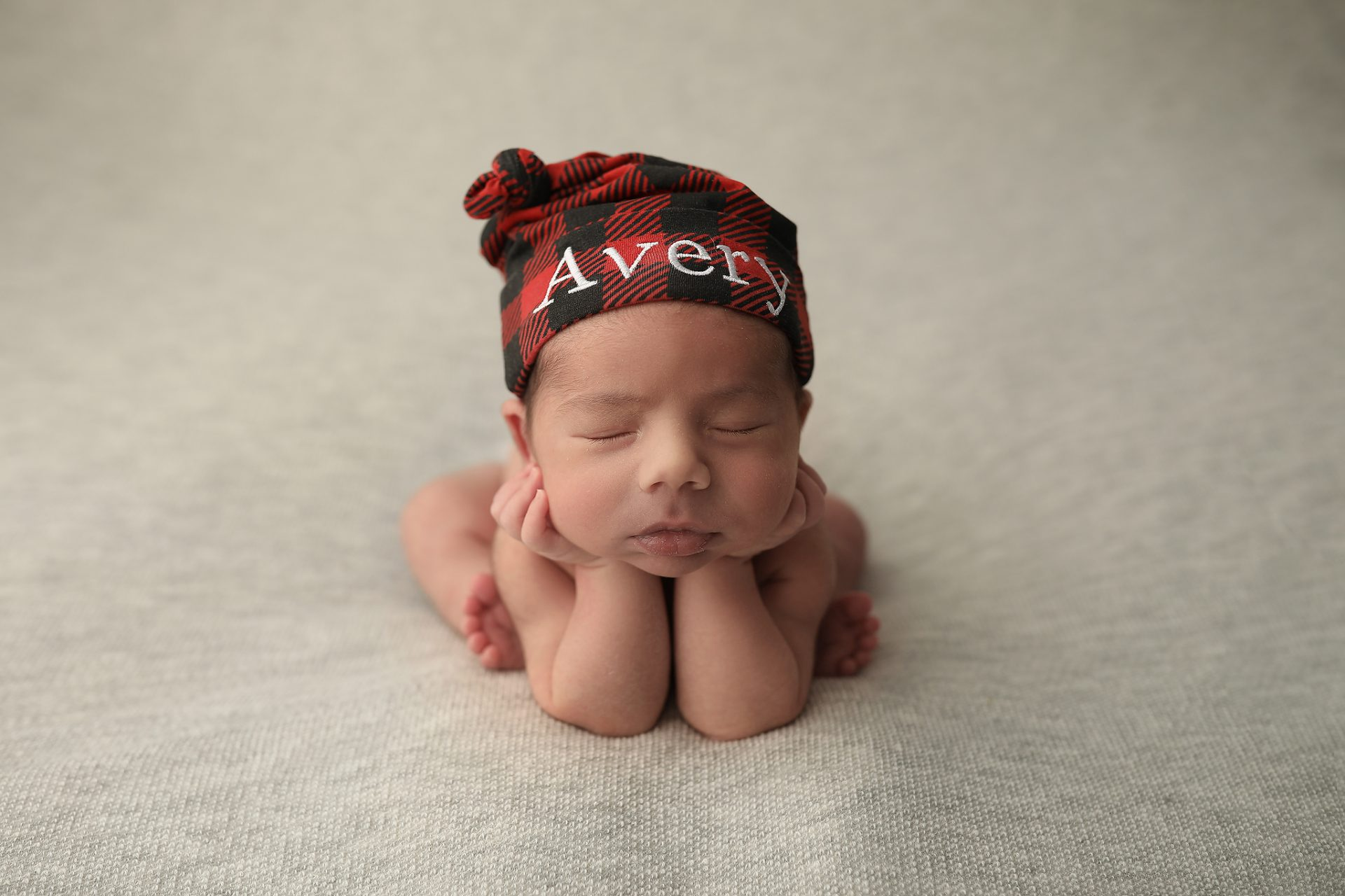 Tucson baby poses for pictures