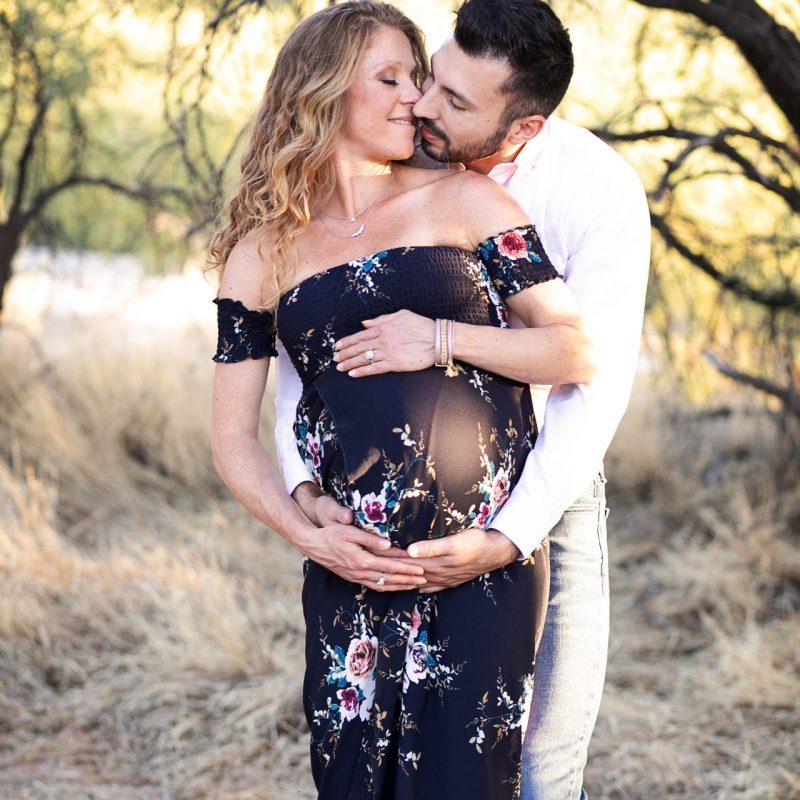 Gorgeous Maternity Pictures | Arizona Desert | Tucson Photographer